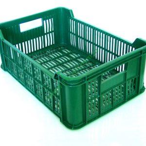 Large Skrzynka Plastikowa 15kg Zielona